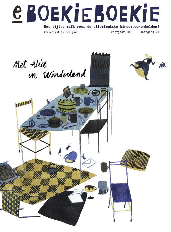 Met Alice in Wonderland, cover: Oona Mäkelä