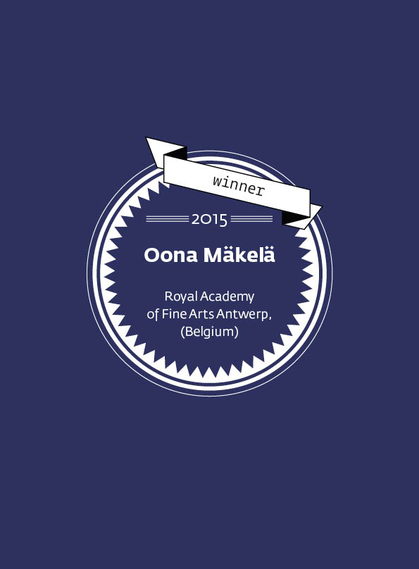 Oona Mäkelä • stArt Award winner • 2015
