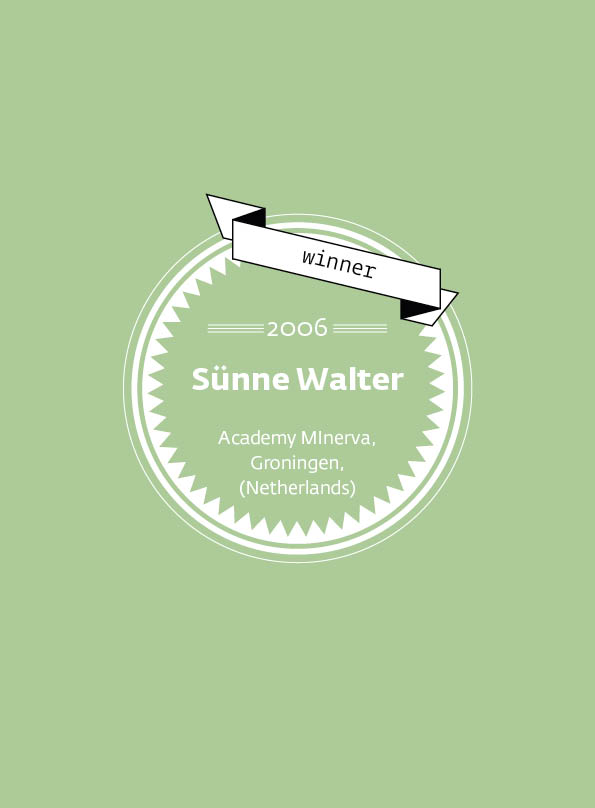 Sünne Walter • stArt Award winner • 2006