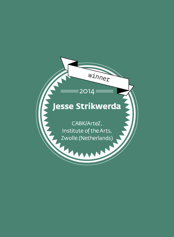 Jesse Strikwerda • stArt Award winner • 2014