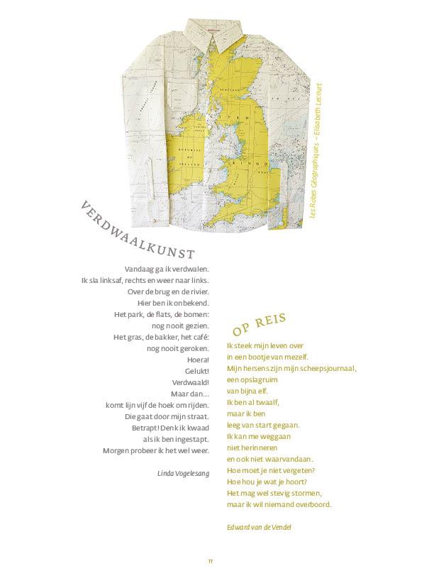 Verdwaalkunst • Linda Vogelesang | Op reis • Edward van de Vendel