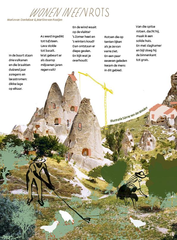 Wonen in een rots - Maria van Donkelaar & Martine van Rooijen