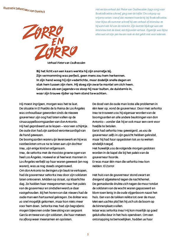 Zorro & Zorro - Pieter van Oudheusden