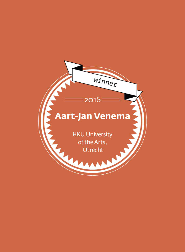 Aart-Jan Venema • stArt Award winner • 2016