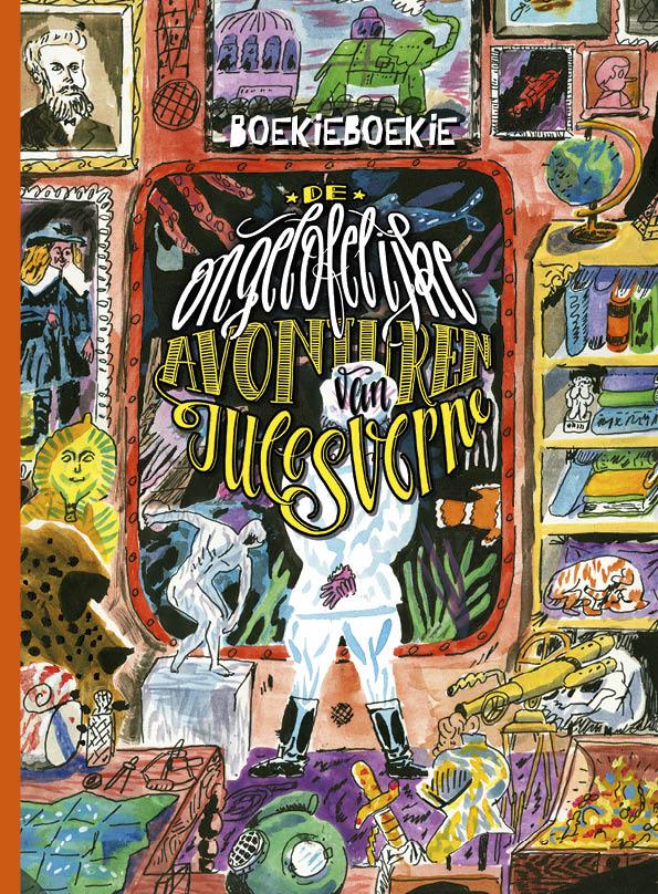 BoekieBoekie De ongelofelijke avonturen van Jules Verne illustratie Aart-Jan Venema