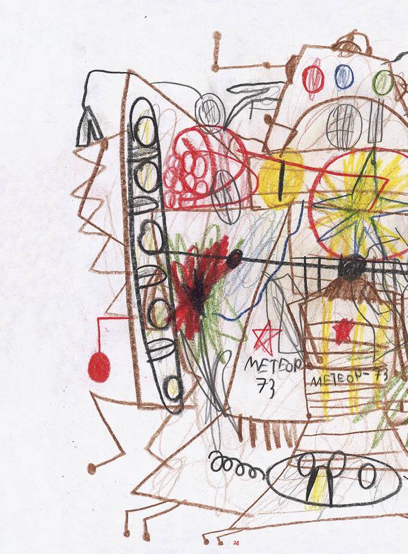 tekening van Maxim Gopengauz (8 jaar) uit Rusland