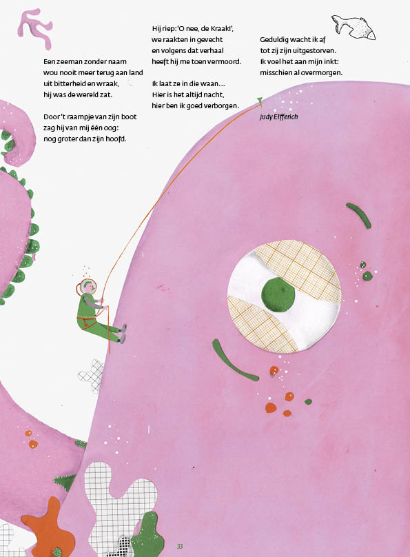 De Kraak • gedicht Judy Elfferich • illustratie Lien Ivo