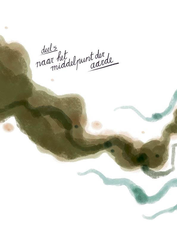 Deel 5: Naar het middelpunt der aarde • illustratie Sebastiaan Van Doninck