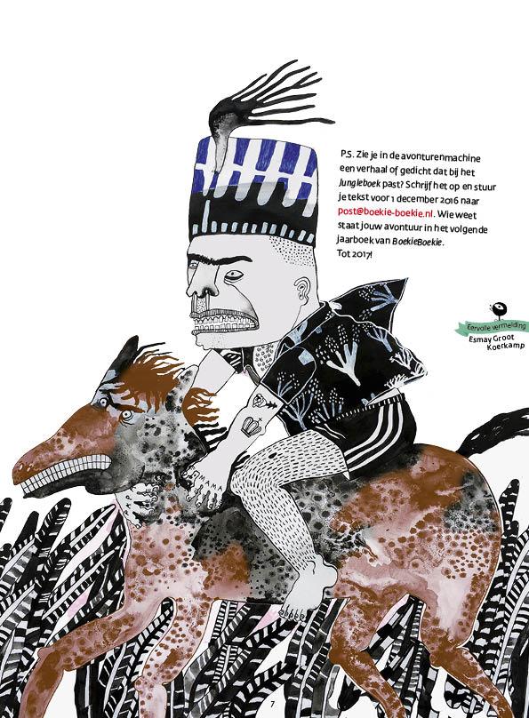 Een cadeau voor BoekieBoekie • tekst Jet Manrho • illustratie Esmay Groot Koerkamp